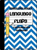 3rd Grade Language Flaps for Interactive Notebooks