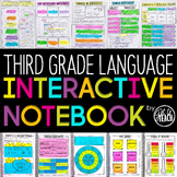 3rd Grade Language Interactive Notebook | Grammar Interact