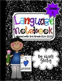 3rd Grade Language Interactive Notebook (Common Core aligned)