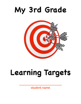 3rd Grade Learning Target Cover Sheet