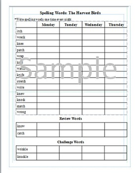 3rd Grade: Lesson 8  Journeys Common Core Spelling Words W