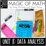 3rd Grade Magic of Math Unit 8:  Data Analysis