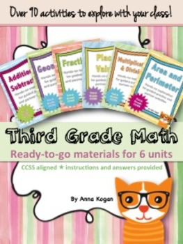 3rd Grade Math Activities - Bundle