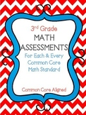 3rd Grade Math Assessments For Each & Every Common Core Ma