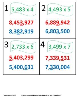 3rd Grade Math Calendar - Preview of 4th Grade Concepts fo