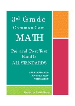 3rd Grade Math Common Core Assessments