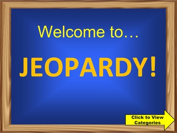 3rd Grade Math Common Core Review Jeopardy PowerPoint Game
