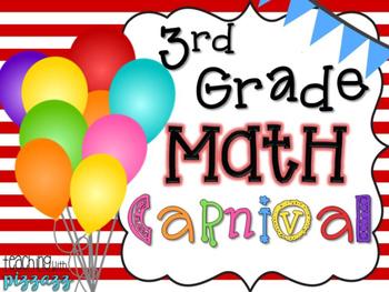 3rd Grade Math Concepts Carnival