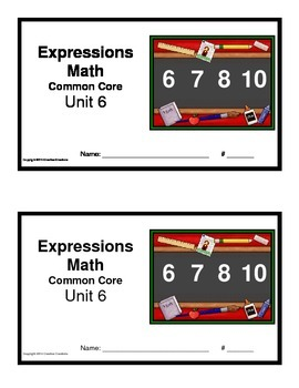 3rd Grade Math Expressions Common Core:Unit 6 Polygons, Pe