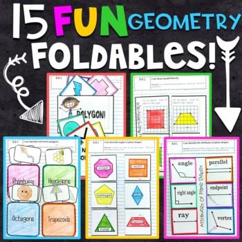 3rd Grade Math Interactive Notebook: Geometry