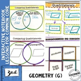 3rd Grade Math Interactive Notebook Geometry G