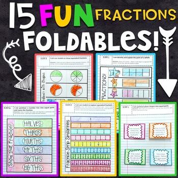Math Interactive Notebook: 3rd Grade Fractions