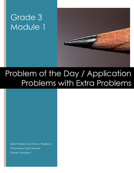 Grade 3 Module 1 Application Problems with Extra Problems