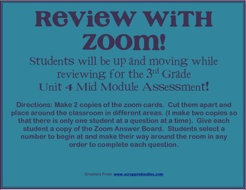 3rd Grade Math Module 4 Mid Unit Review