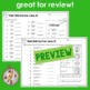 3rd Grade Math Skills- Summer Camp (Printables)