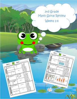 3rd Grade Math Spiral Review (TEKS aligned) Weeks 1-4 - Mo