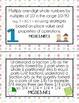 3rd Grade Math Standards for Posting