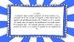 3rd Grade Math Standards on Blue Sunburst Frame
