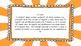 3rd Grade Math Standards on Orange Sunburst Frame