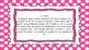 3rd Grade Math Standards on Pink Polka Dotted Frame