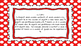 3rd Grade Math Standards on Red Polka Dotted Frame