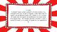 3rd Grade Math Standards on Red Sunburst Frame