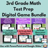 3rd Grade Math Test Prep PowerPoint Games: 11 Games & 110