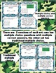 Math Test Prep Task Cards (Boot Camp Theme) 3rd Grade