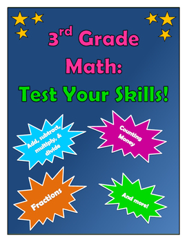 3rd Grade Math--Test Your Skills!