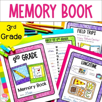 3rd Grade Memory Book- End of Year Reflections