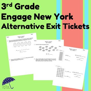 3rd Grade, Module 1: Engage New York Alternative Exit Tickets