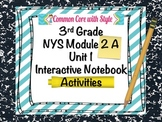 3rd Grade Module 2A Unit 1 Interactive Notebook Activities
