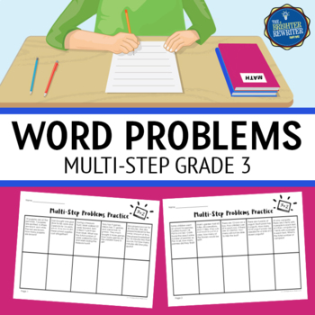 3rd Grade Multiple Step Word Problems