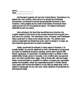 3rd Grade Nonfiction Reading Comprehension Packet: Multipl