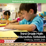 Third Grade- Numbers and Operations Interactive Notebook