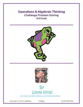 Math-3rd Grade Operations & Algebraic Thinking Challenge P