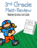 3rd Grade Problem Solving Task Cards (1st half of year w/