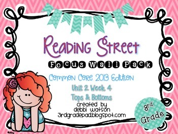 Reading Street 3rd Grade 2013 Focus Wall Posters Unit 2 We