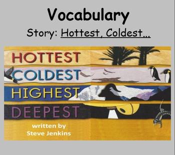 3rd Grade, Reading Street, Hottest, Coldest... Vocab Smart