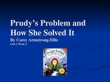 3rd Grade Reading Street Prudy's Problem Vocab Power Point