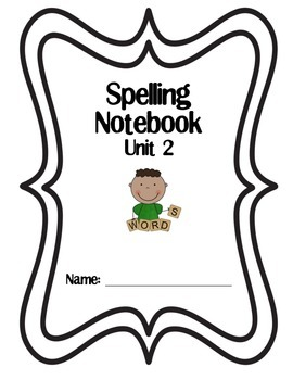 3rd Grade Reading Street Spelling Tic Tac Toe Homework Unit 2