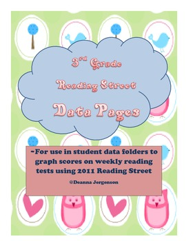 3rd Grade Reading Street Student Data Pages