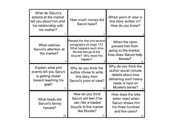 3rd Grade Reading Street Unit 1 Week 5 Questions - My Rows