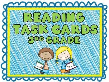 3rd Grade Reading Task Cards