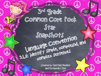 3rd Grade Rock Star Snapshots 3.L.1i: Simple, Compound, an
