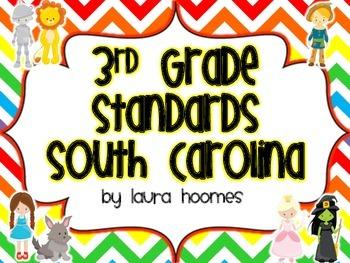 3rd Grade SOUTH CAROLINA Oz Standards
