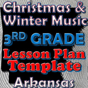 3rd Grade School and Patriotic Songs Lesson Plan Template