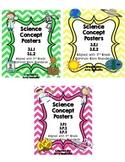 3rd Grade Science Concept Poster Bundle 3.P.1 3.P.2 3.P.3