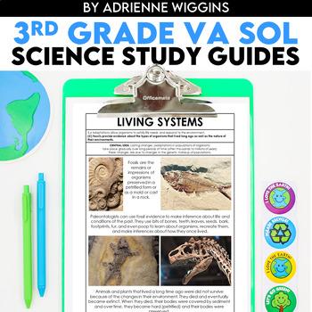 3rd Grade Science STUDY GUIDES (VA SOL)