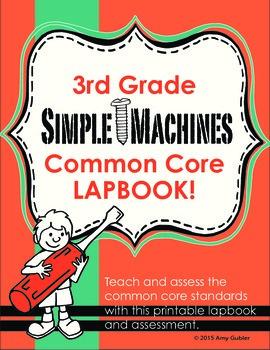 3rd Grade Simple Machines Lapbook